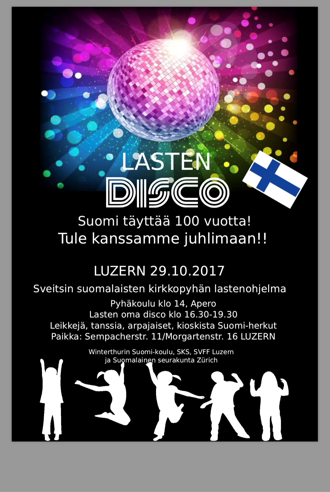 Lasten disco